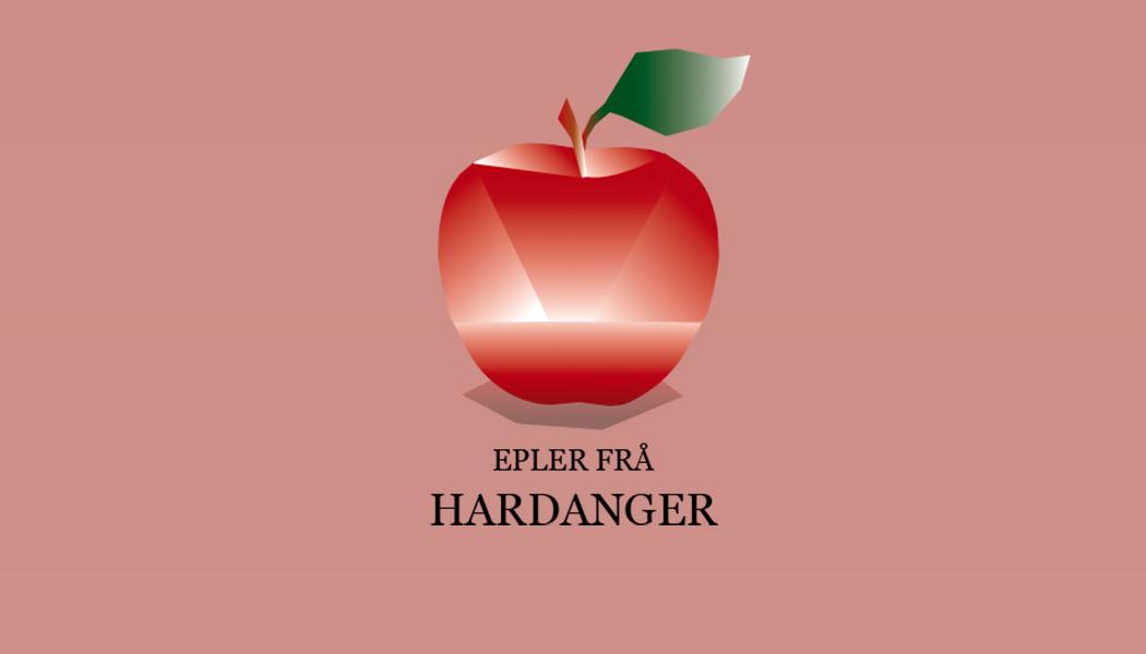 epler frå hardanger, eple logo, logo eple, apple logo, hardanger, hardanger logo, chndesign.no,